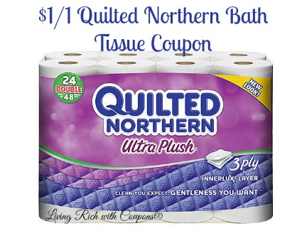 Quilted northern facial tissue coupon