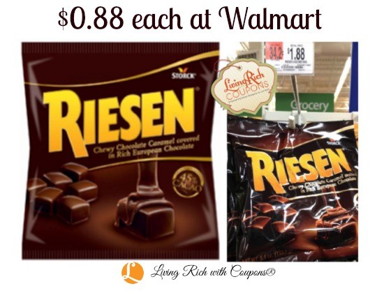 Riesen Coupon 0 88 Each At Walmart Living Rich With