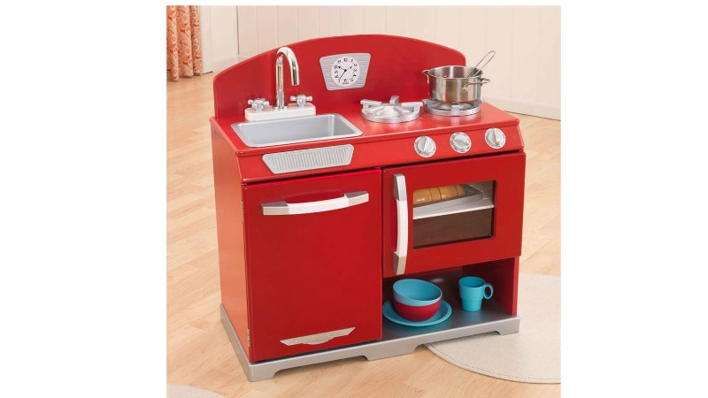 kidkraft red vintage kitchen assembly instructions