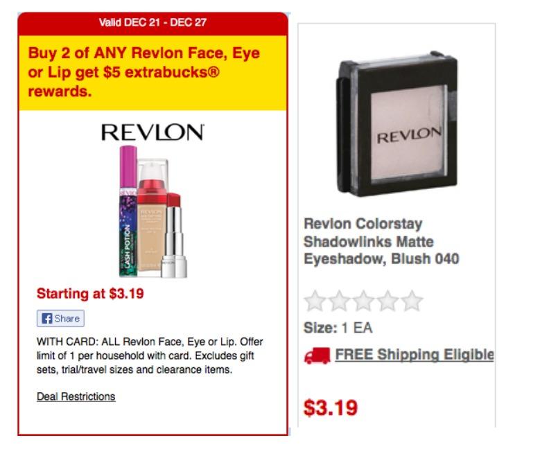 Revlon coupon cvs