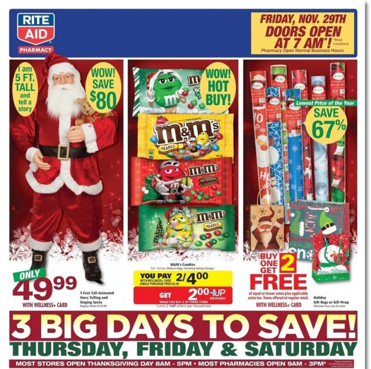 Rite Aid Black Friday Ad 2013