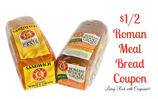 Roman Meal Bread Coupon 1 00 Off 2 Roman Meal Bread