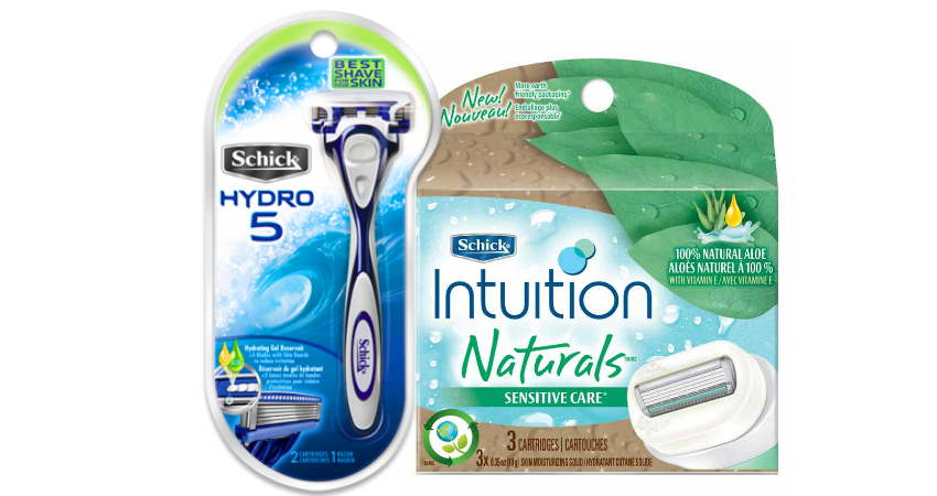 Schick newspaper coupons