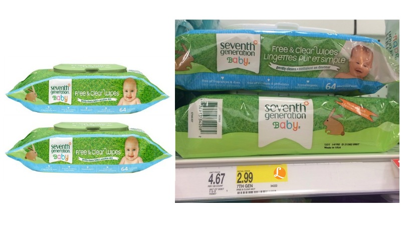 seventh generation wipes Target