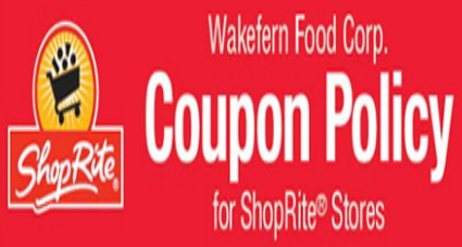 shoprite coupon policy