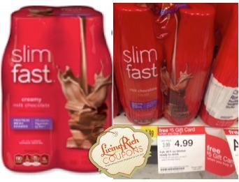 Slimfast Shakes Target Deal