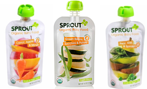 Is Sprout Organic Baby Food Gluten Free