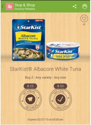 Starkist albacore tuna coupons