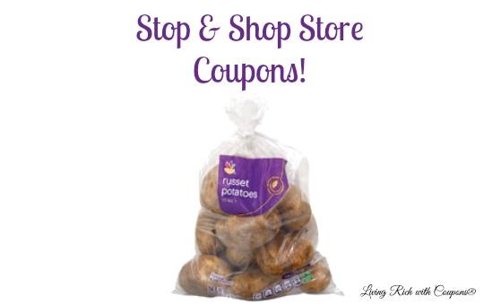Manufacturer coupons stop and shop