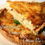 Switzerland Cheese and Onion Pie
