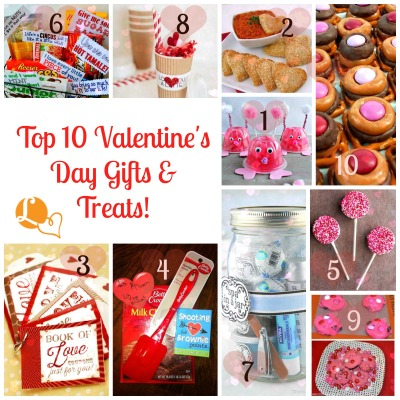 Top 10 Valentine's Day Gifts & Treats