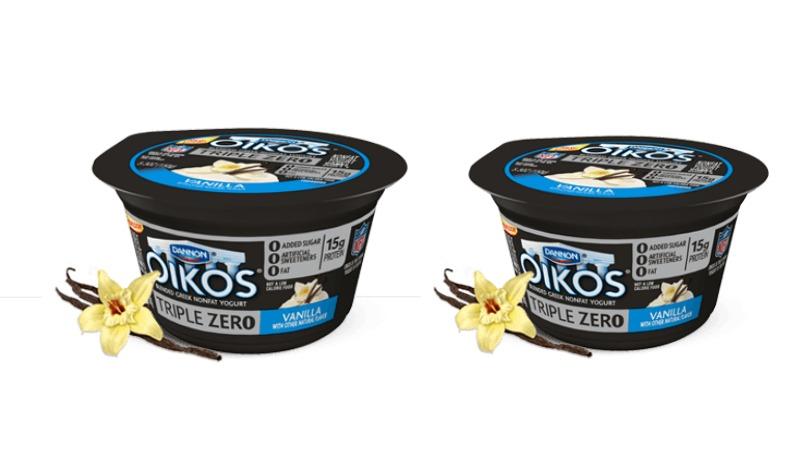 New 1 4 dannon oikos triple zero yogurt coupon only 0 42 at