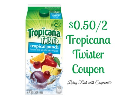 TWISTERS COUPONS