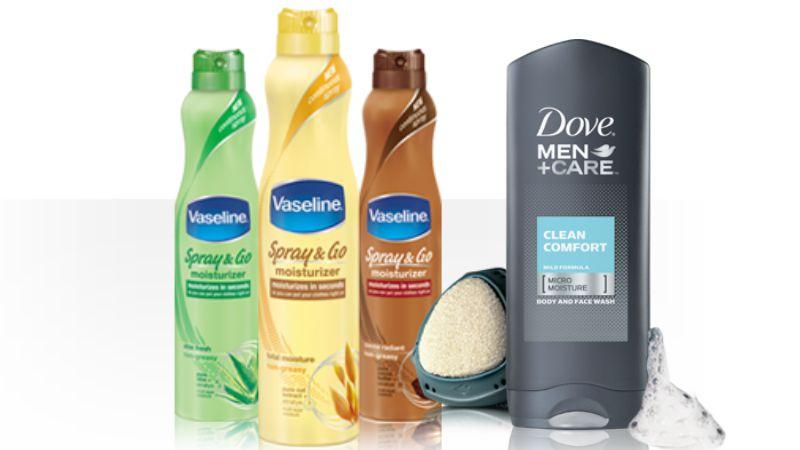 Vaseline body spray coupons