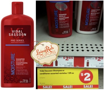 FREE Vidal Sassoon at Family Dollar