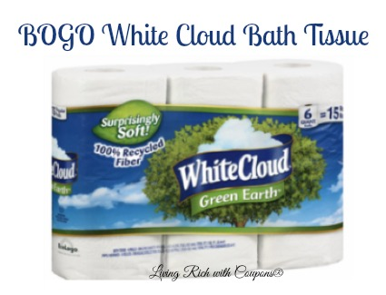 White Cloud Coupon Bogo White Cloud Bath Tissue Living