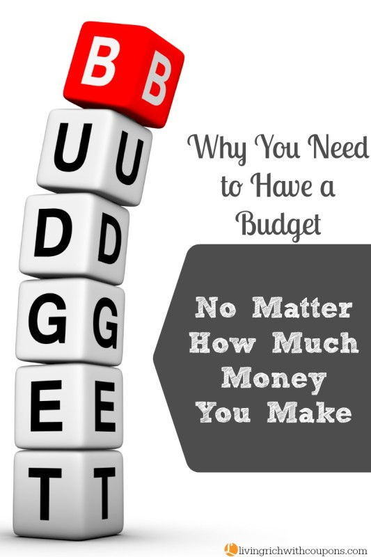 why you need to have a budget