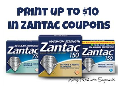 Zantac 150 Free Offer